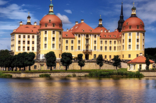 Free Moritzburg Castle in Saxony Picture for Android, iPhone and iPad
