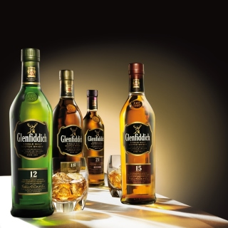 Glenfiddich special reserve 12 yo single malt scotch whiskey - Obrázkek zdarma pro iPad Air