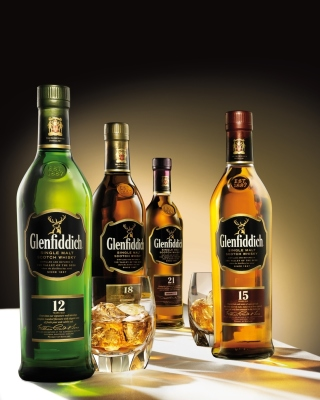 Glenfiddich special reserve 12 yo single malt scotch whiskey - Obrázkek zdarma pro Nokia C3-01 Gold Edition