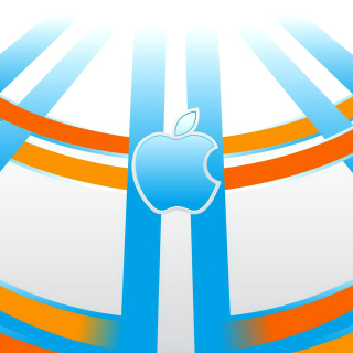 Apple Emblem - Obrázkek zdarma pro iPad