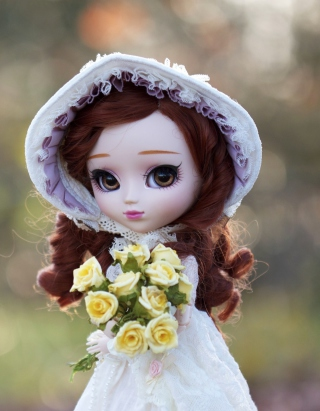 Romantic Doll - Obrázkek zdarma pro Nokia Asha 308