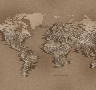 World Map - Obrázkek zdarma pro iPad mini 2