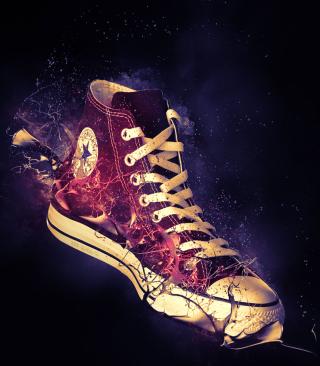 Red Converse - Obrázkek zdarma pro 320x480