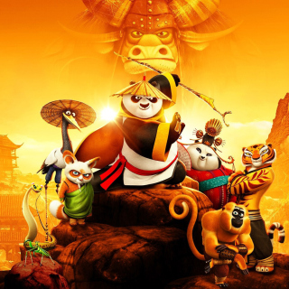Kung Fu Panda 3 3D - Obrázkek zdarma pro iPad 2