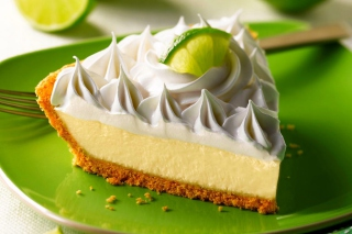 Lime Cheesecake Wallpaper for Android, iPhone and iPad