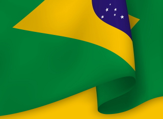 Brazil Flag Picture for Android, iPhone and iPad
