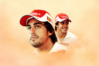 Fernando Alonso Background for Android, iPhone and iPad