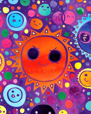 Funny Suns - Obrázkek zdarma pro Nokia C3-01 Gold Edition