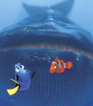 Finding Nemo Whale - Obrázkek zdarma pro Nokia X2