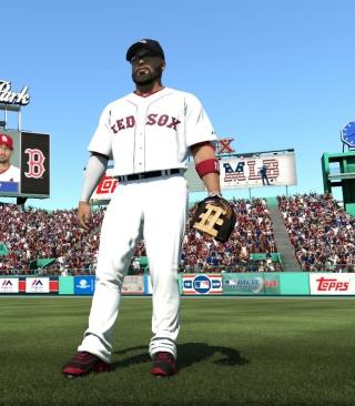 Baseball Red Sox - Obrázkek zdarma pro Nokia X1-01