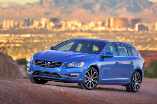 2015 Volvo V60 T5 Wallpaper for Android, iPhone and iPad