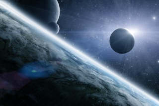 Free Space Picture for Android, iPhone and iPad