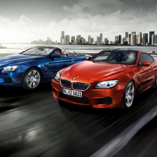BMW M6 Convertible - Obrázkek zdarma pro iPad