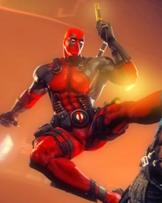 Deadpool Marvel Comics Hero - Obrázkek zdarma pro Nokia Asha 311