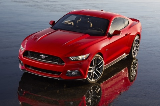 2015 Ford Mustang Background for Android, iPhone and iPad