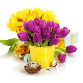 Spring Easter Flowers - Obrázkek zdarma pro iPad 3