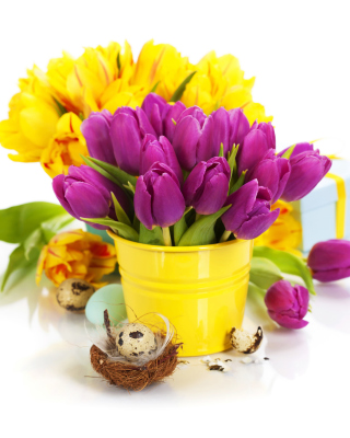 Spring Easter Flowers - Obrázkek zdarma pro Nokia Lumia 900