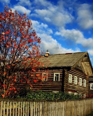Village house design - Obrázkek zdarma pro Nokia Asha 303