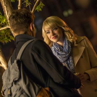Emma Stone In New Spiderman - Obrázkek zdarma pro 1024x1024
