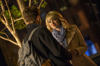 Emma Stone In New Spiderman Picture for Android, iPhone and iPad