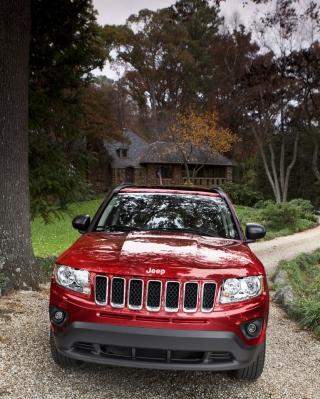 Jeep Compass - Obrázkek zdarma pro 480x640