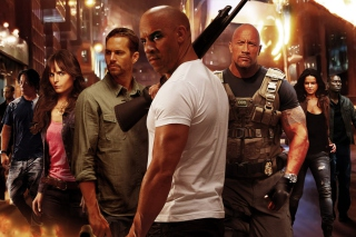 Fast & Furious 6, Vin Diesel Background for Android, iPhone and iPad