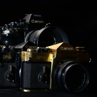 Canon F1 Reflex Camera - Obrázkek zdarma pro 128x128
