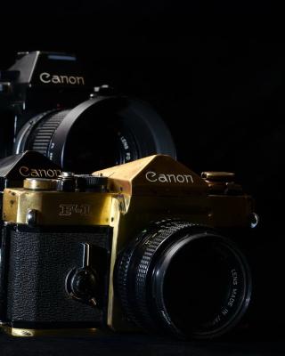 Canon F1 Reflex Camera - Obrázkek zdarma pro Nokia Asha 306