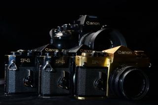 Canon F1 Reflex Camera - Obrázkek zdarma pro Google Nexus 5