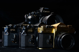 Canon F1 Reflex Camera - Obrázkek zdarma pro Android 800x1280