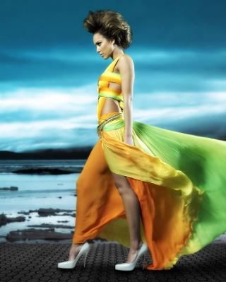 Jessica Alba - Obrázkek zdarma pro 480x800