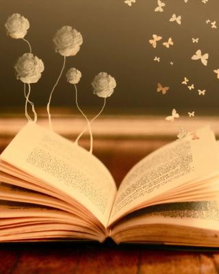 Books Fairy Butterflies - Obrázkek zdarma pro Nokia Asha 501