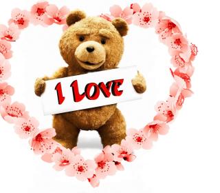 Love Ted - Obrázkek zdarma pro iPad Air
