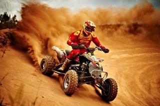 Yamaha ATV Quad Bike - Obrázkek zdarma pro Samsung Galaxy Q