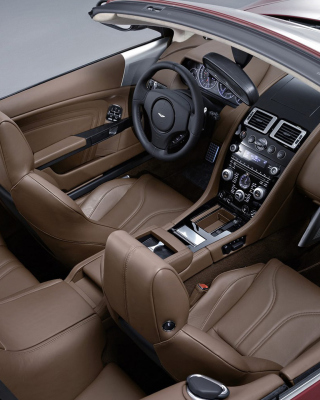 Aston Martin DBS Interior - Obrázkek zdarma pro 132x176