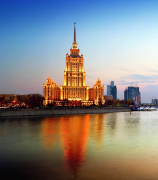 Beautiful Moscow City - Obrázkek zdarma pro iPhone 3G