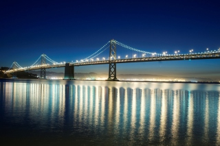 San Francisco Bridge Wallpaper for Android, iPhone and iPad