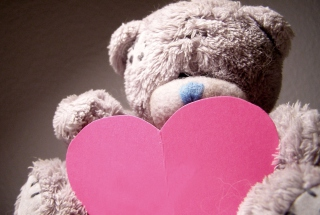 Teddy Bear Love Wallpaper for Android, iPhone and iPad