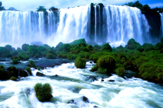 Iguazu Falls Picture for Android, iPhone and iPad