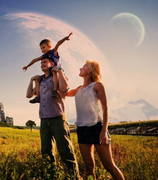 Happy Family - Obrázkek zdarma pro Nokia C5-06