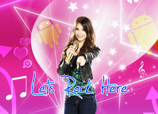 Lets Rock Here Picture for Android, iPhone and iPad