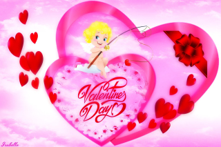 Free Valentines Day Angel Picture for Android, iPhone and iPad