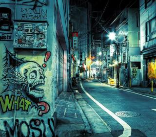 Street Graffiti - Obrázkek zdarma pro 1024x1024