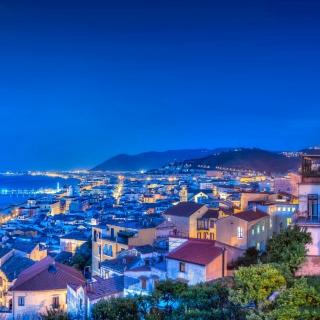 Amalfi Coast and Gulf of Salerno in Campania - Obrázkek zdarma pro 128x128