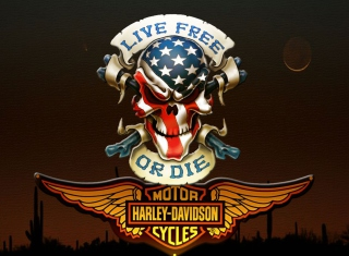 Harley Davidson - Obrázkek zdarma pro HTC One