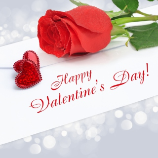 Valentines Day Greetings Card - Obrázkek zdarma pro 2048x2048