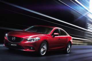 Mazda 6 2014 Background for Android, iPhone and iPad