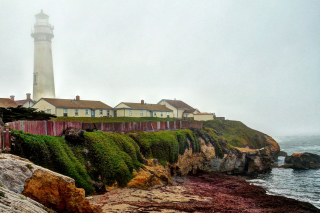 Lighthouse in Spain Wallpaper for Android, iPhone and iPad