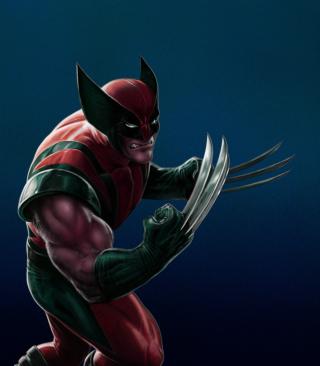 Wolverine Marvel Comics - Obrázkek zdarma pro Nokia X2