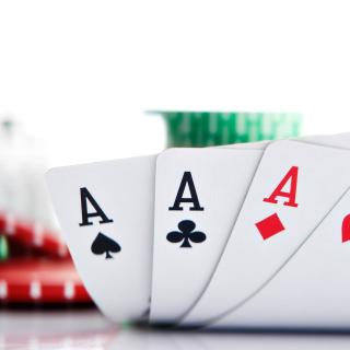 Poker Playing Cards - Obrázkek zdarma pro 1024x1024